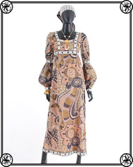 1970'S VARON MAXI DRESS