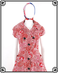 40'S 50'S COTTON DAY DRESS
