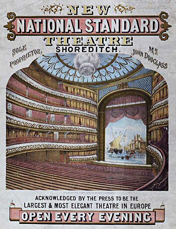 1867 Poster from the National Standard Theatre