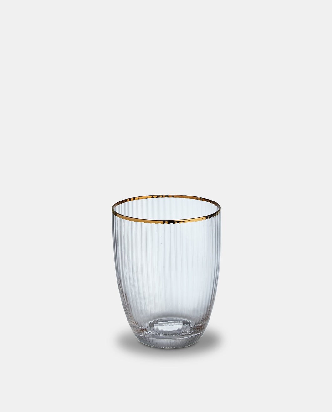 Italia Gold Rim Tumbler set of 4