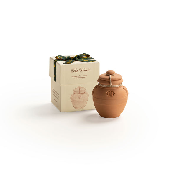 Pot Pourri in Small Terracotta Jar  officina-smn-eu.myshopify.com Officina Profumo Farmaceutica di Santa Maria Novella - EU