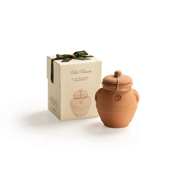 Pot Pourri in Medium Terracotta Jar  officina-smn-eu.myshopify.com Officina Profumo Farmaceutica di Santa Maria Novella - EU