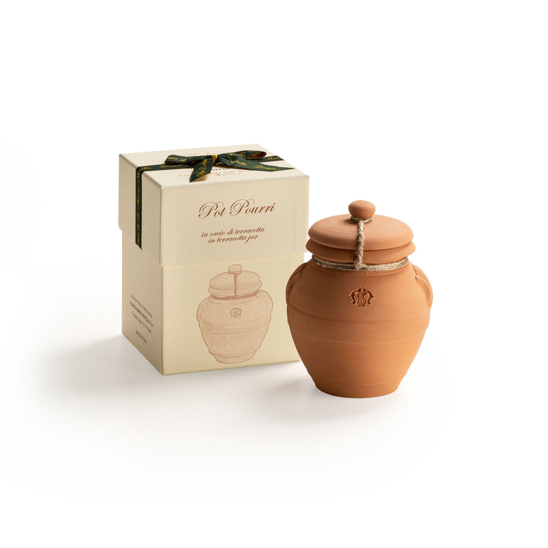 Pot Pourri in Large Terracotta Jar  officina-smn-eu.myshopify.com Officina Profumo Farmaceutica di Santa Maria Novella - EU
