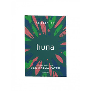 Huna Labs 10mg CBD Derma Patches - 30 Patches - SirCheebaCBD