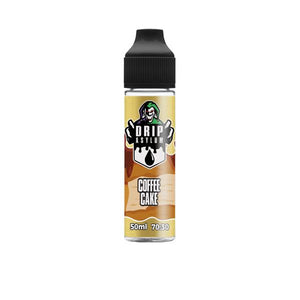 Drip Asylum by QCig 50ml Short fill 0mg (70VG/30PG) - SirCheebaCBD