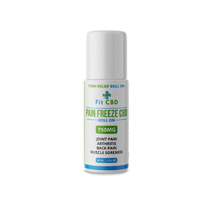 Fit CBD 750mg CBD Freeze Roll On 90ml - SirCheebaCBD