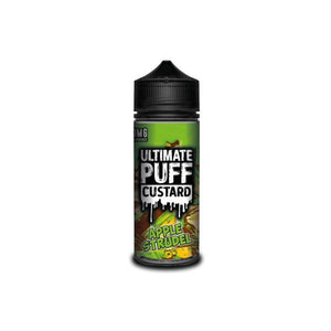 Ultimate Puff Custard 0mg 100ml Shortfill (70VG/30PG) - SirCheebaCBD