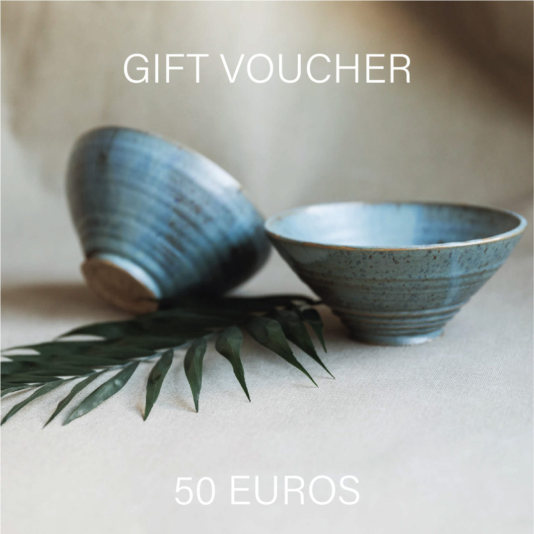 Gift Voucher - Any Pottery