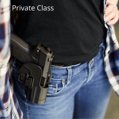 Private Multi-State Concealed Carry Course Marc-On Shooting