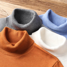 Load image into Gallery viewer, 2020 New Autumn Winter Men's Warm Turtleneck Sweater High Quality Fashion Casual Comfortable Pullover Thick Sweater Male Brand