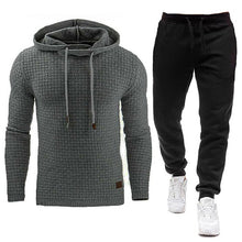 Load image into Gallery viewer, 2020 New Tracksuit Men Brand Male Solid Hooded Sweatshirt+Pants Set Mens Hoodie Sweat Suit Casual Sportswear S-5XL Free Shipping