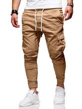 Load image into Gallery viewer, Men Pants thin New Fashion Casual  Jogger Pants  Fitness Bodybuilding Gyms Pants Sweatpants Trousers