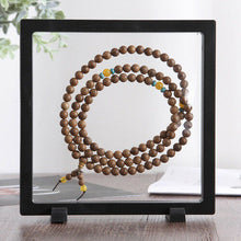Load image into Gallery viewer, Clear Jewelry Suspended Coins Floating Display Case Stand Holder Box Pretty Shelves Holder for Specimen Display