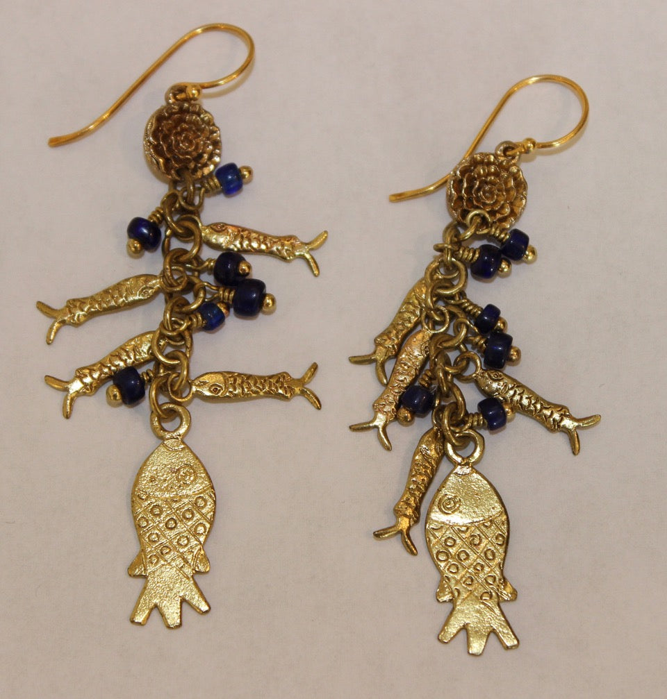 EARRINGS 'CATCH OF THE DAY'