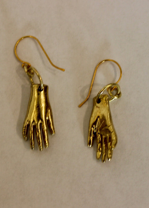 EARRINGS 'HANDS'