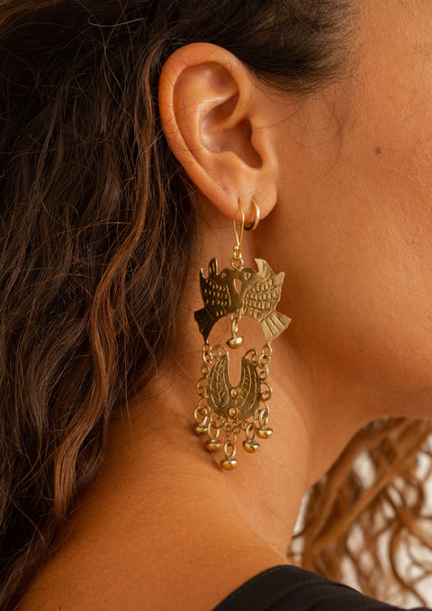 EARRINGS 'DOVE'