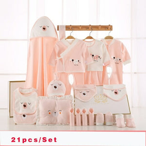 22 Piece set/Baby Clothing Sets (peach set)