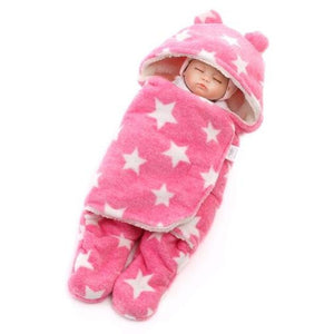 Baby Swaddle Star Wrap (pink)