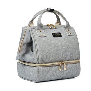Fashion Mama Maternity Diaper Bag (grey)
