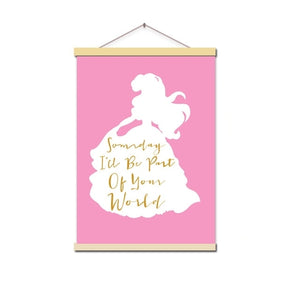 Little Princess Canvas Painting