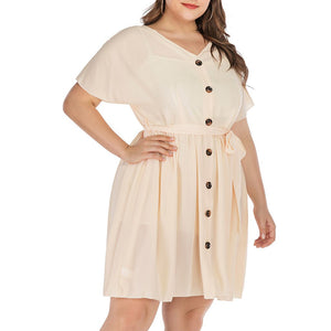 Maternity Hollow Out Summer Dress