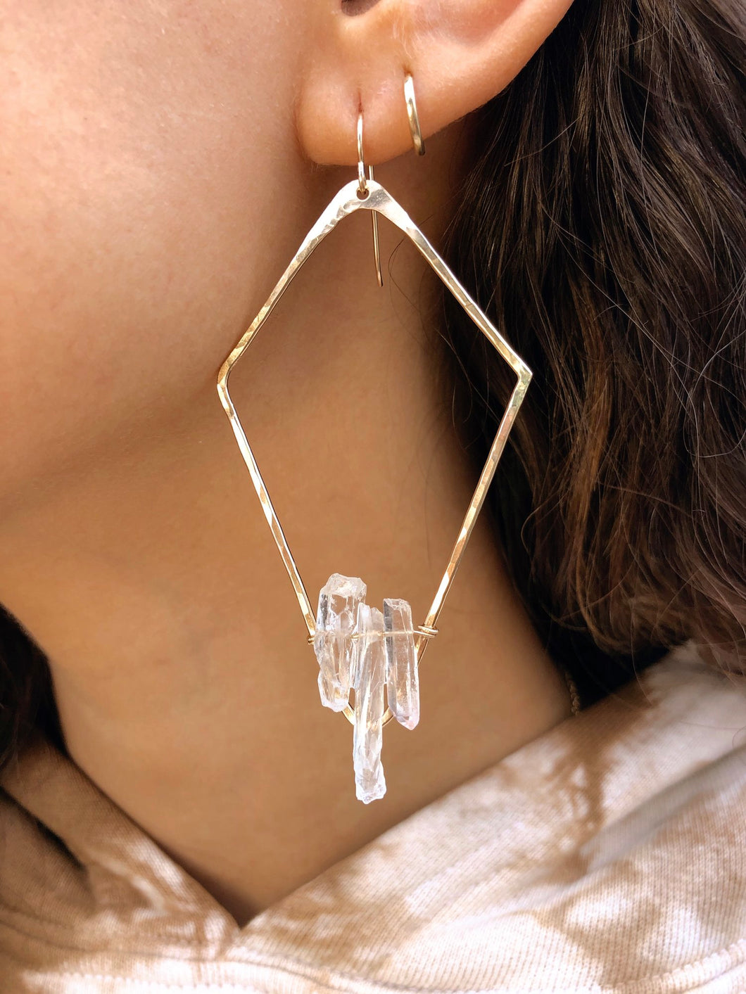 Lucid Crystal Earrings