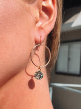 Load image into Gallery viewer, Mini Dainty Abalone Hoops
