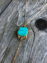 Load image into Gallery viewer, Serendipity Turquoise Lariat