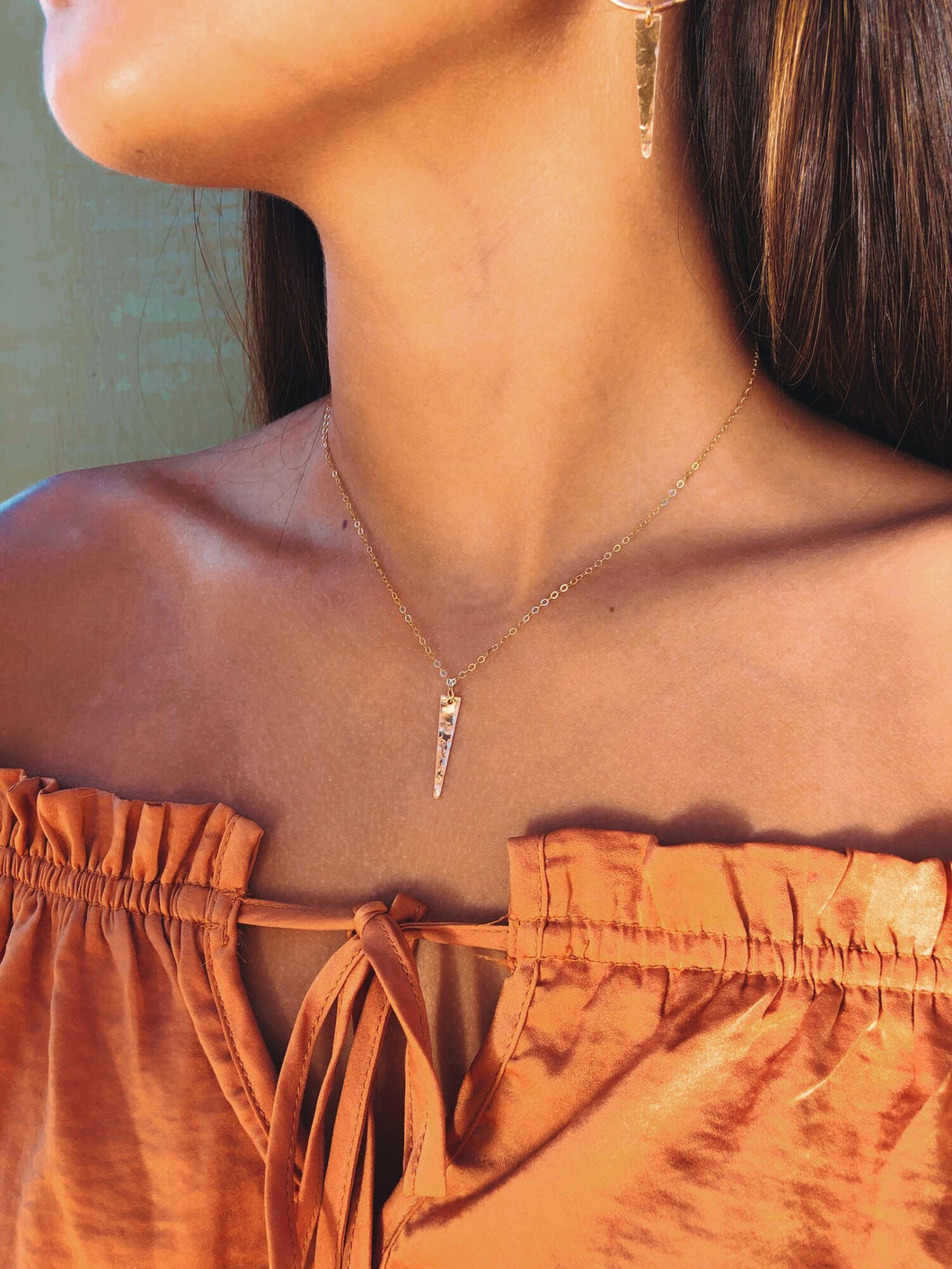 Dainty Lil Spike Necklace