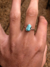 Load image into Gallery viewer, Turquoise Bezel Ring