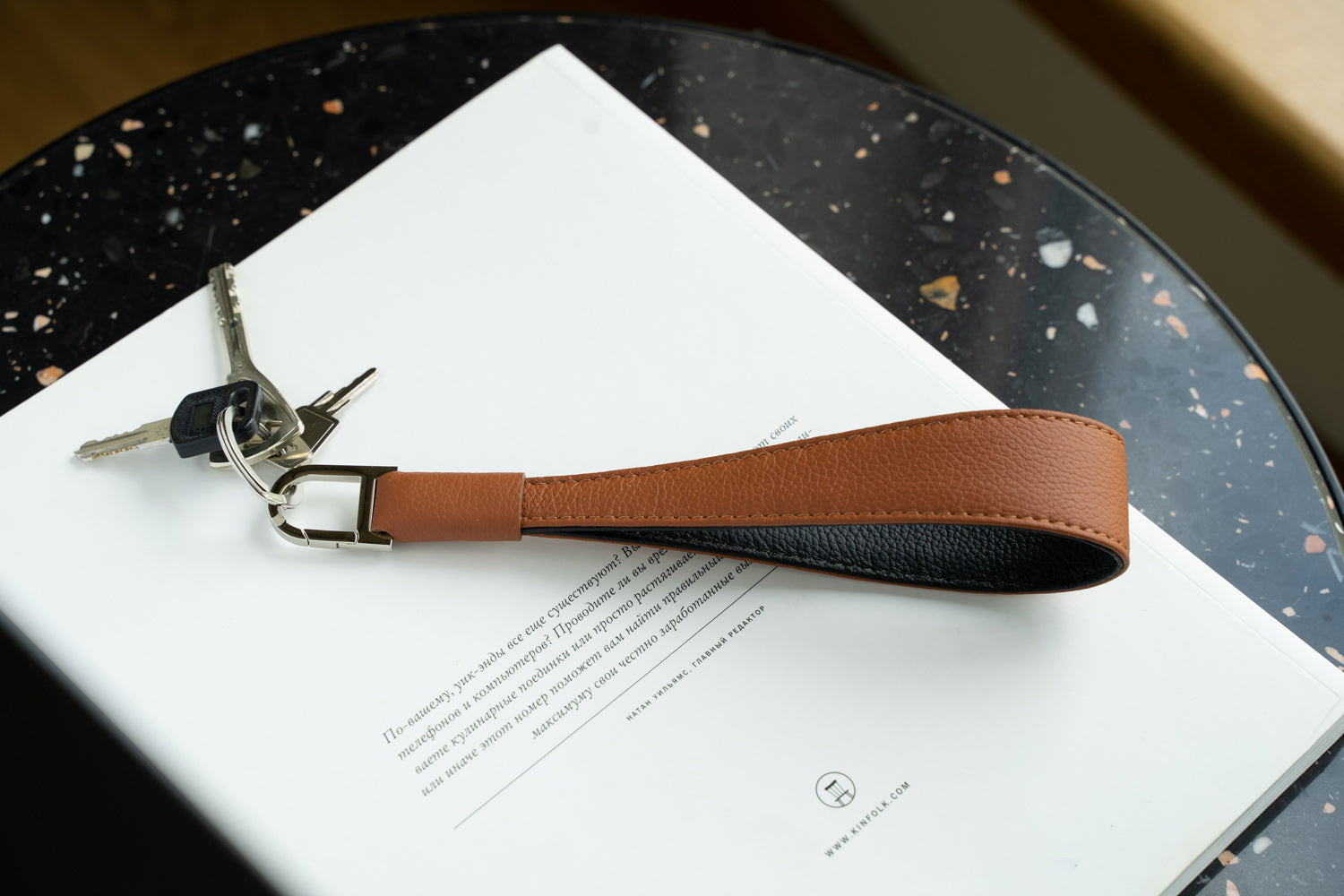 Handcrafted key chain loop by OCULT