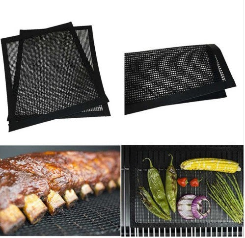 5pieces Tapis grill de barbecue