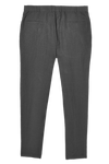 nimbus grey linen narrow pants