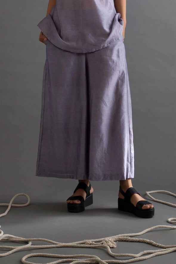 Silken Valley Chanderi Culottes