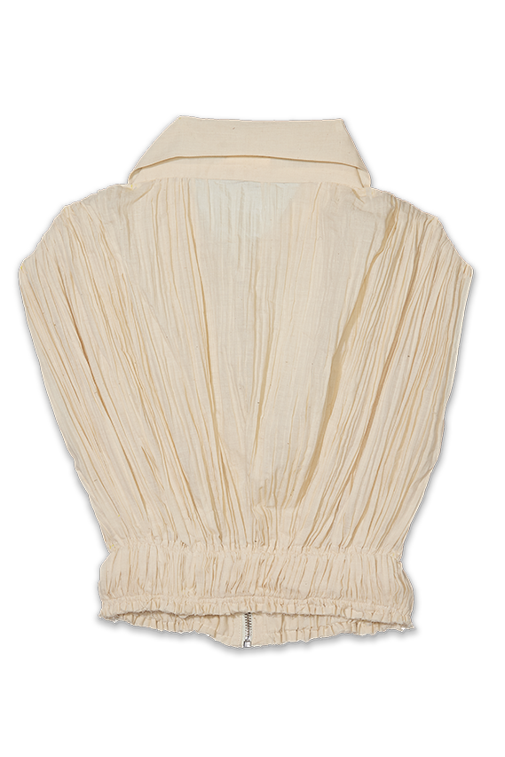 brood muslin ruched top