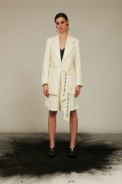 lilting off-white lily jacket