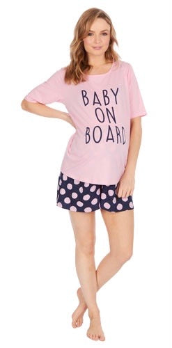 Baby on Board Pyjamas