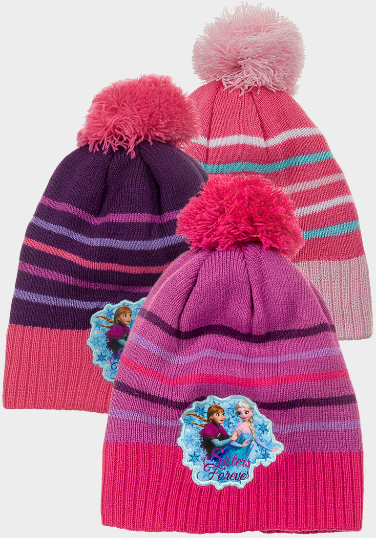 Frozen Bobble Hat