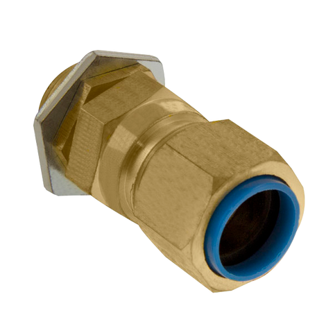 Unicrimp QCW25 Brass Gland 25mm PK2