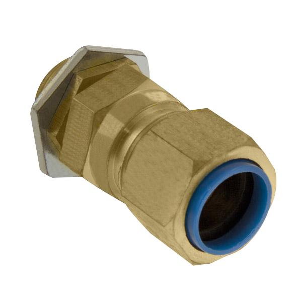Unicrimp QCW32 Brass Gland 32mm PK2