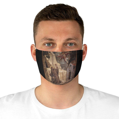 Adjustable Face Mask - Stigmatization of St. Francis, Giotto - Art an a T