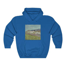 Load image into Gallery viewer, Hooded Sweatshirt - At the Foot of the Mountains, Vincent van Gogh - Art an a T