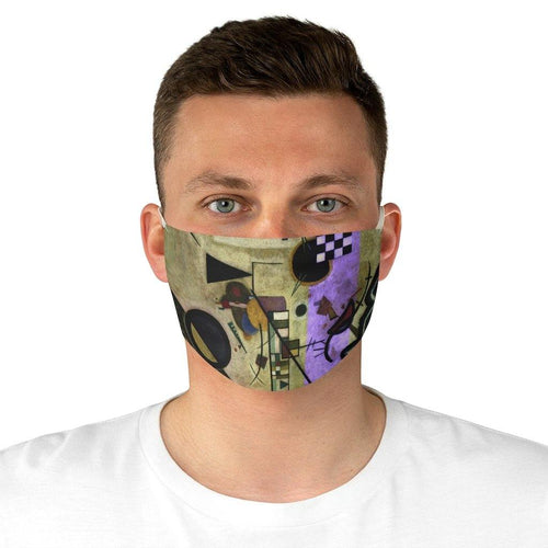 Adjustable Face Mask - Contrasting Sounds, Wassily Kandinsky - Art an a T
