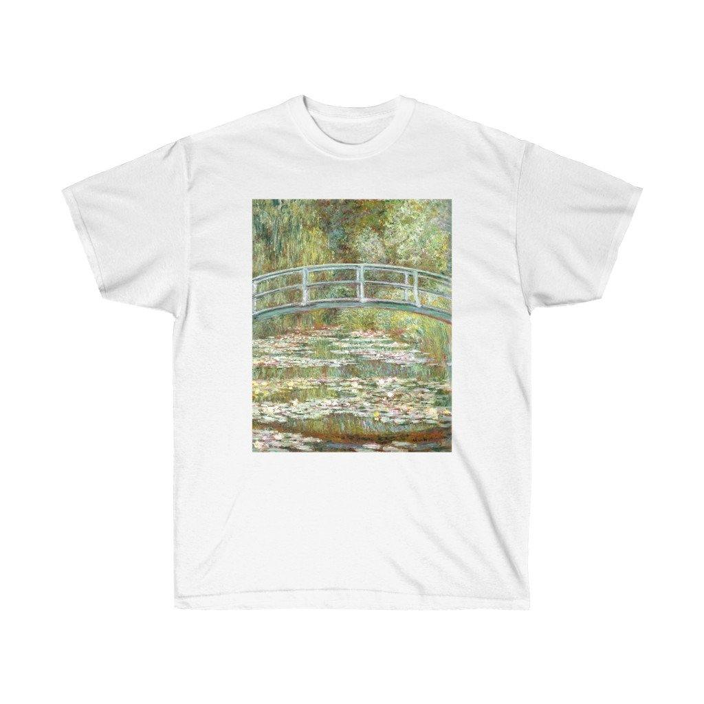 Tee - Bridge over a Pond of Water Lilies, Claude Monet - Art an a T