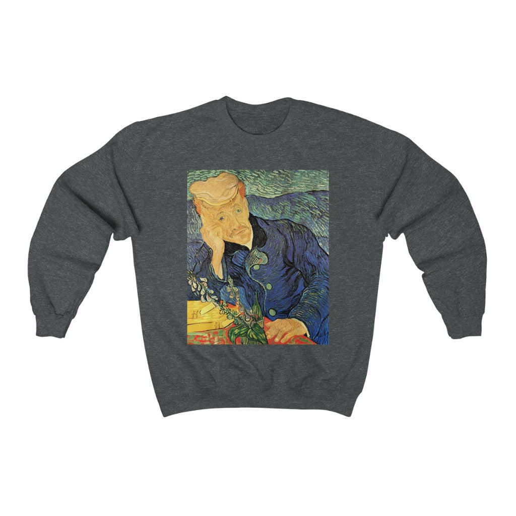 Sweatshirt - Thatched Sandstone Cottages in Chaponval, Vincent van Gogh Sweatshirt 29.95 Art an a T