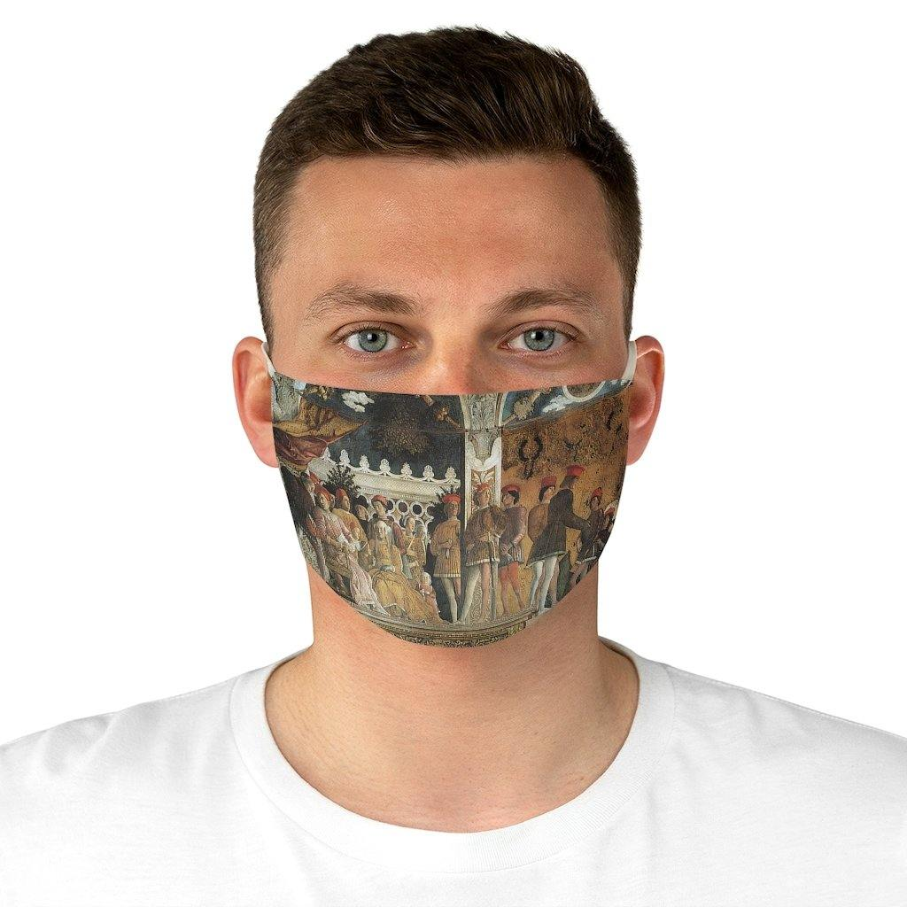 Adjustable Face Mask - Camera degli Sposi, Andrea Mantegna - Art an a T