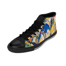 Load image into Gallery viewer, Men's High-top Sneakers - Composition IV, Wassily Kandinsky - Art an a T
