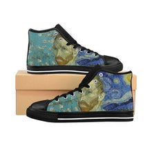 Load image into Gallery viewer, Men's High-top Sneakers - Vincent van Gogh - Art an a T