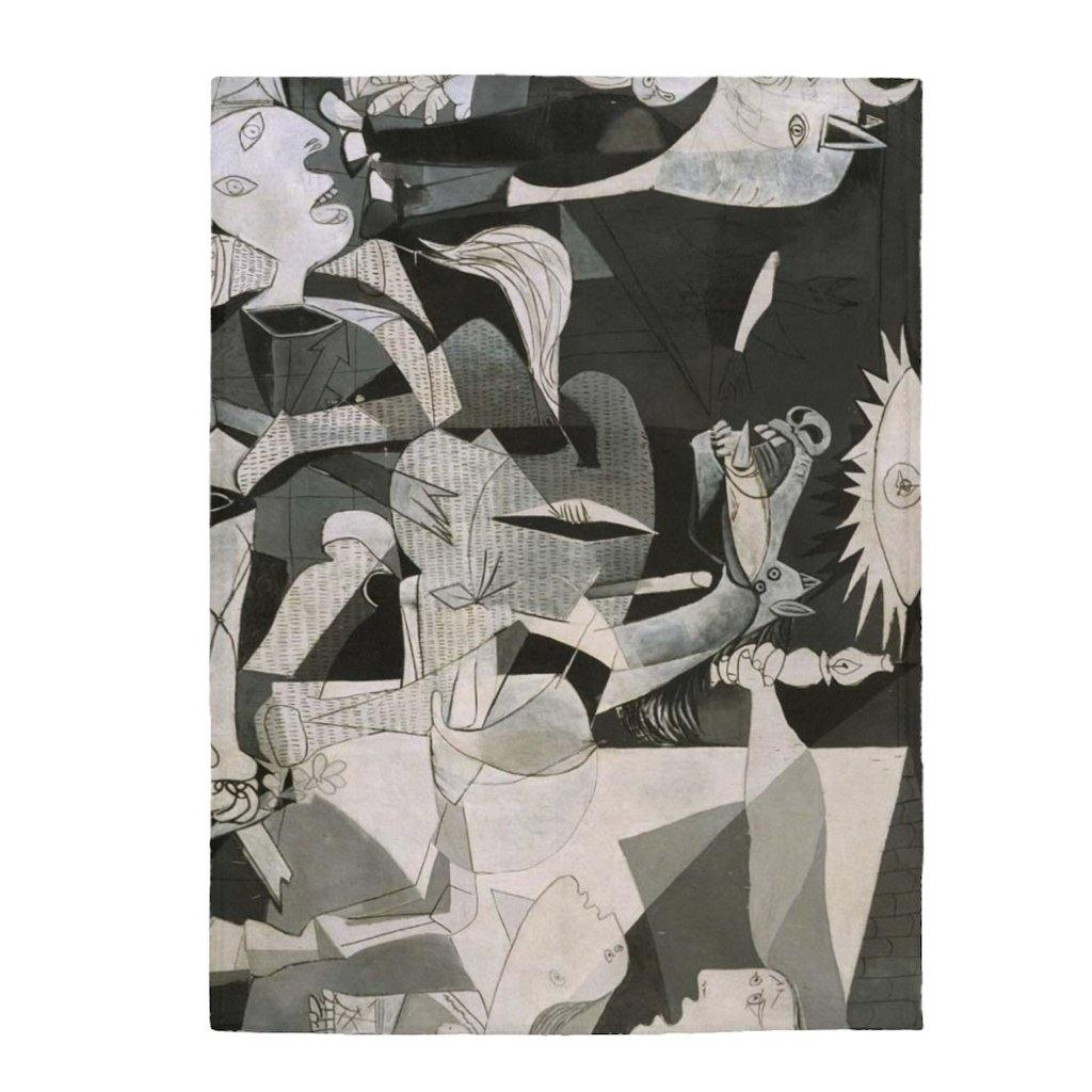 Plush Blanket - Guernica, Picasso All Over Prints 59.95 Art an a T