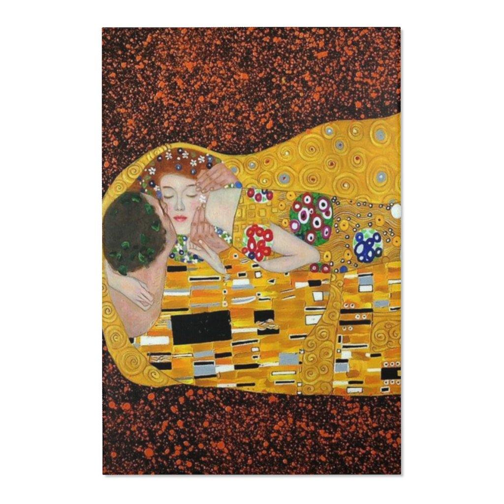 Area Rugs - The Kiss, Gustave Klimt - Art an a T